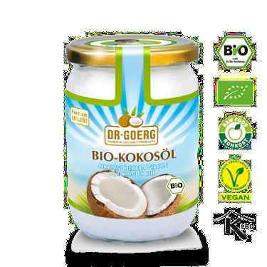 Bio-Kokosöl von Dr. Goerg