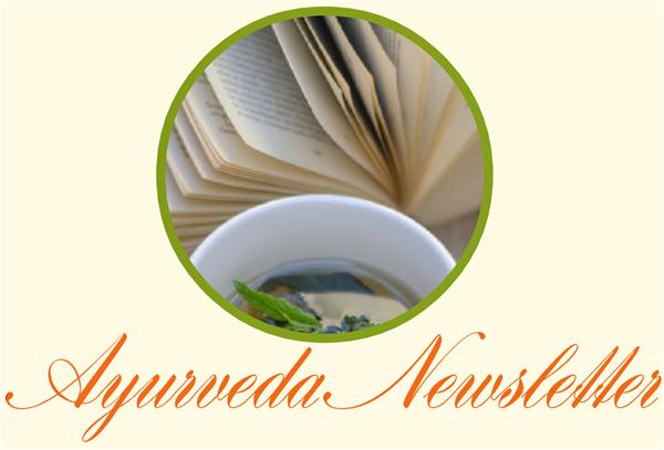 Ayurveda Luzern Newsletter-Anmeldung