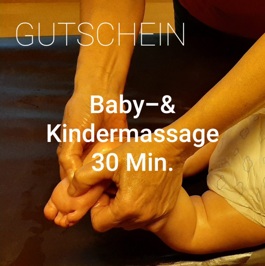 Babymassage 30 Min.