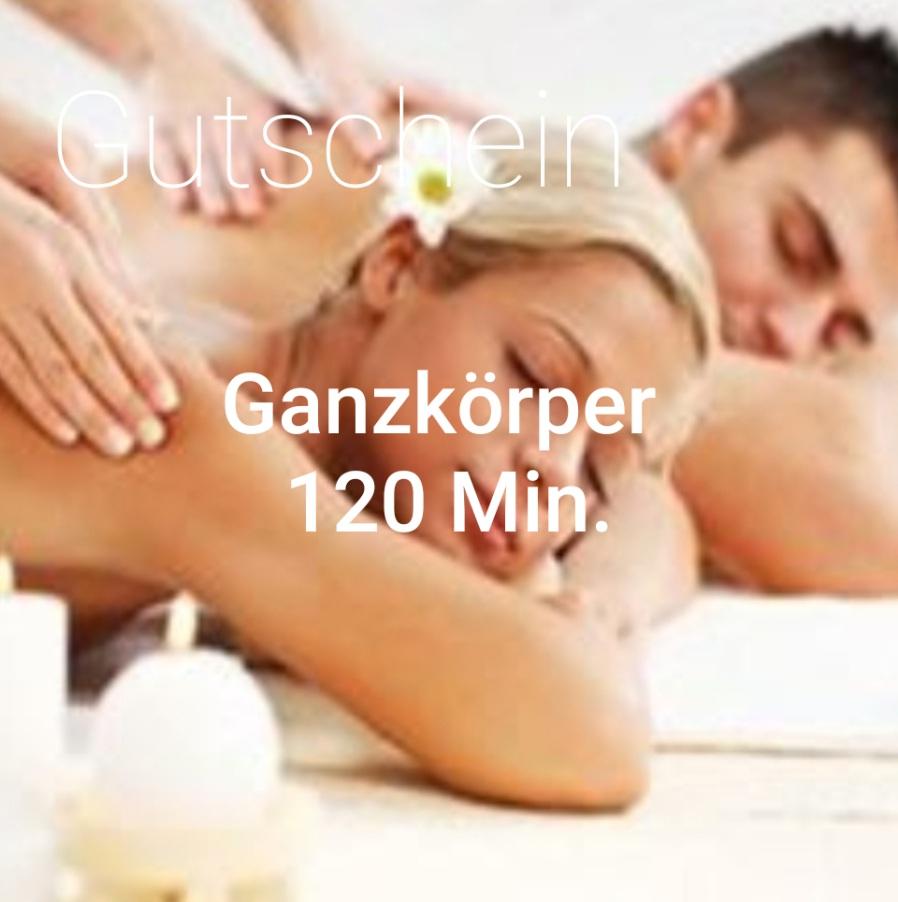 Ganzkörpermassage 120 Min
