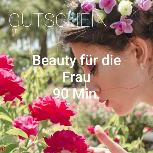 Beautybehandlung für die Frau 90 Min