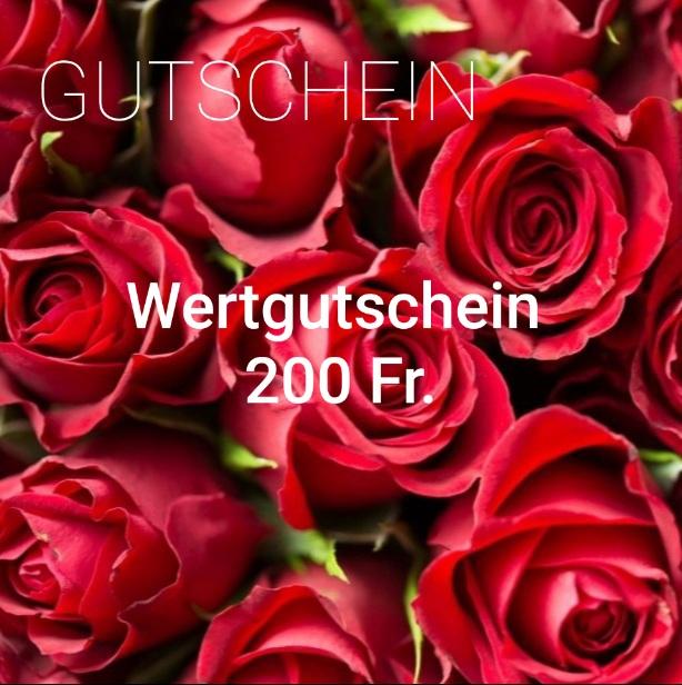 Wertgutschein 200 Fr.